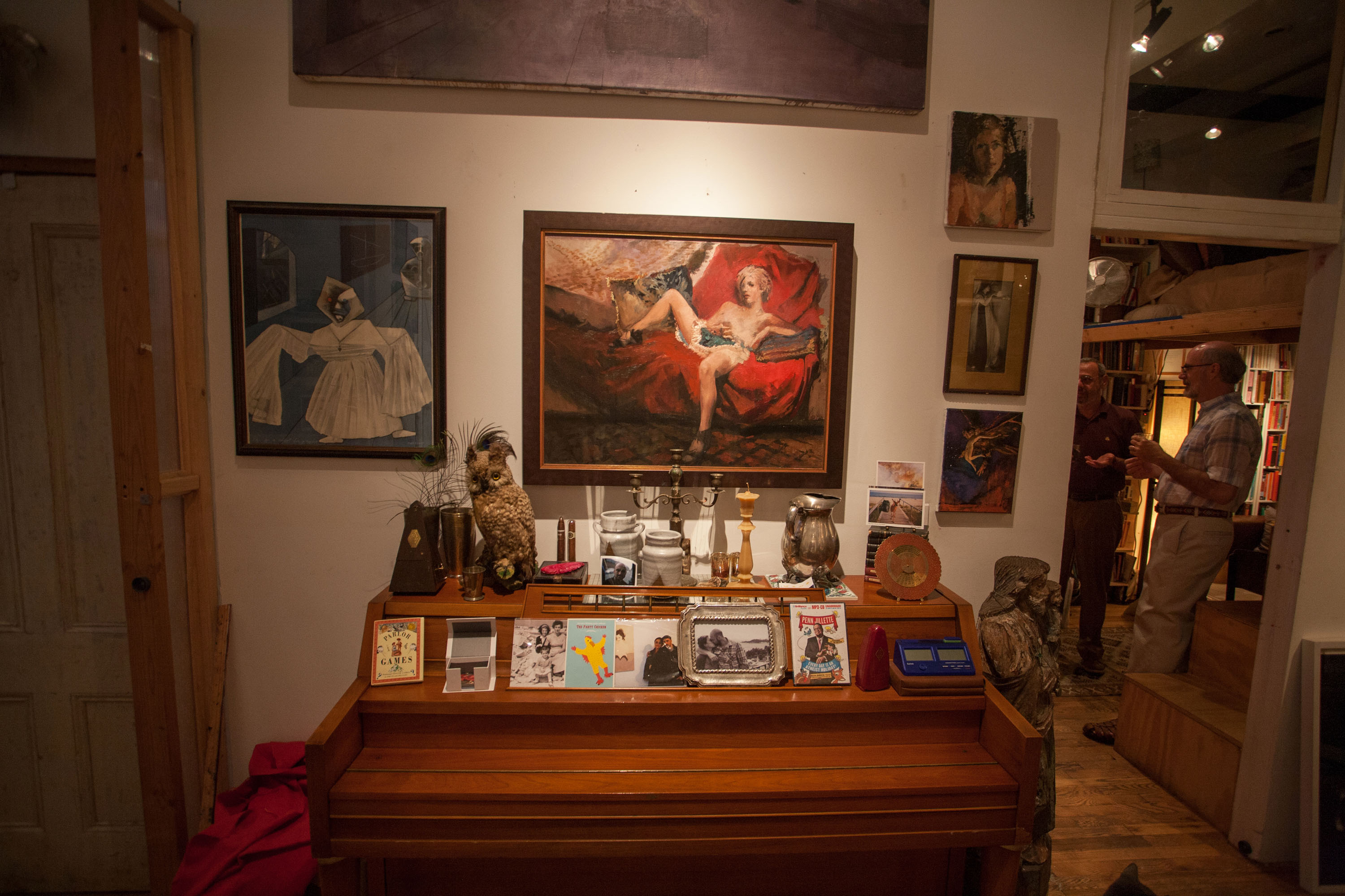 Tim Kent's home studio (Photo: Eric Reichbaum)
