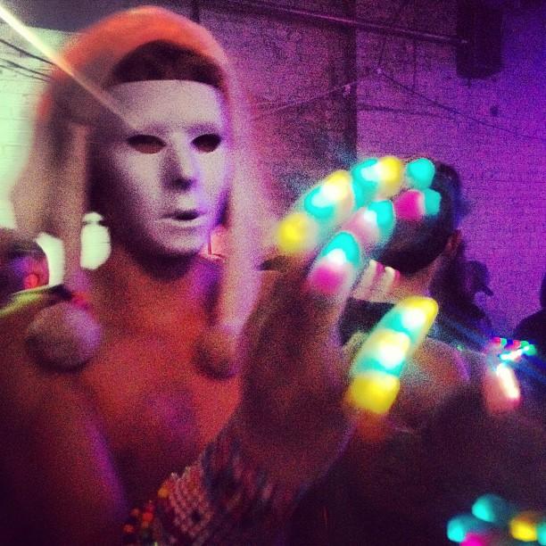 Rave hands! #BangOnNYC