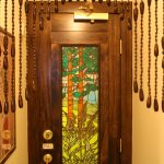 Hi Collar's bathroom door. (Photo: Natalie Rinn)