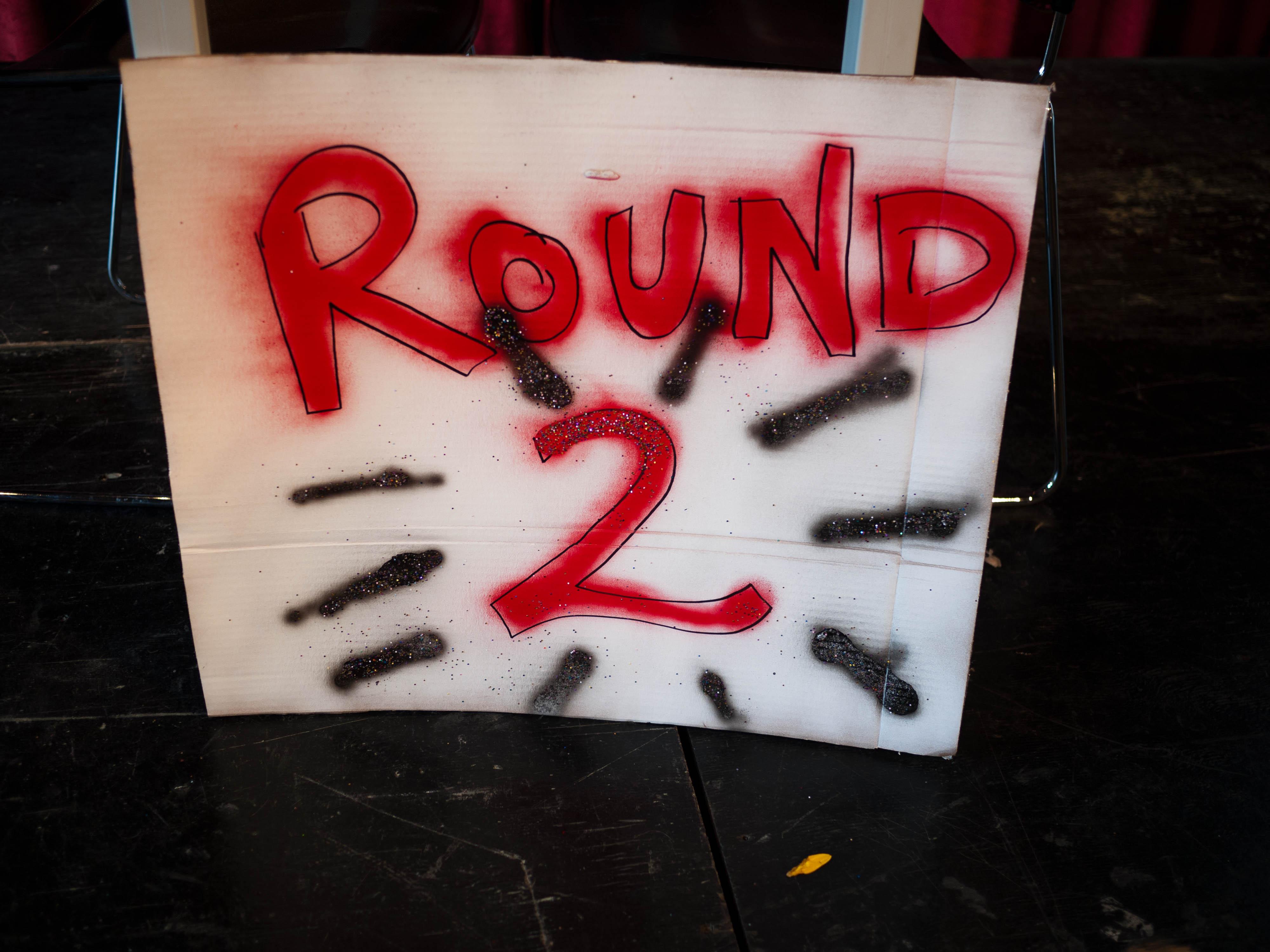Round 2 (Sasha Von Oldershausen)
