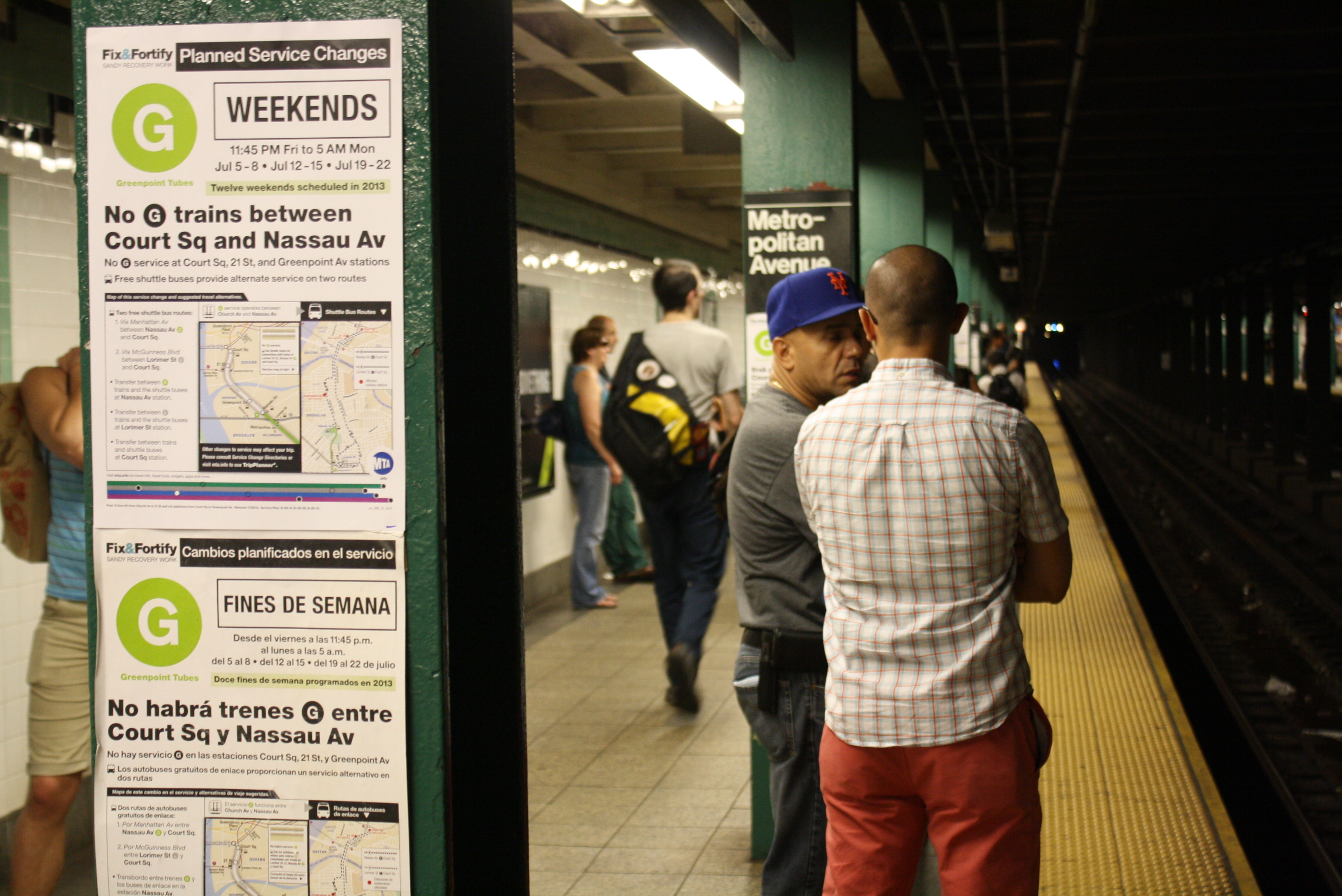 10 things you always wanted to know about the g train but were stuck