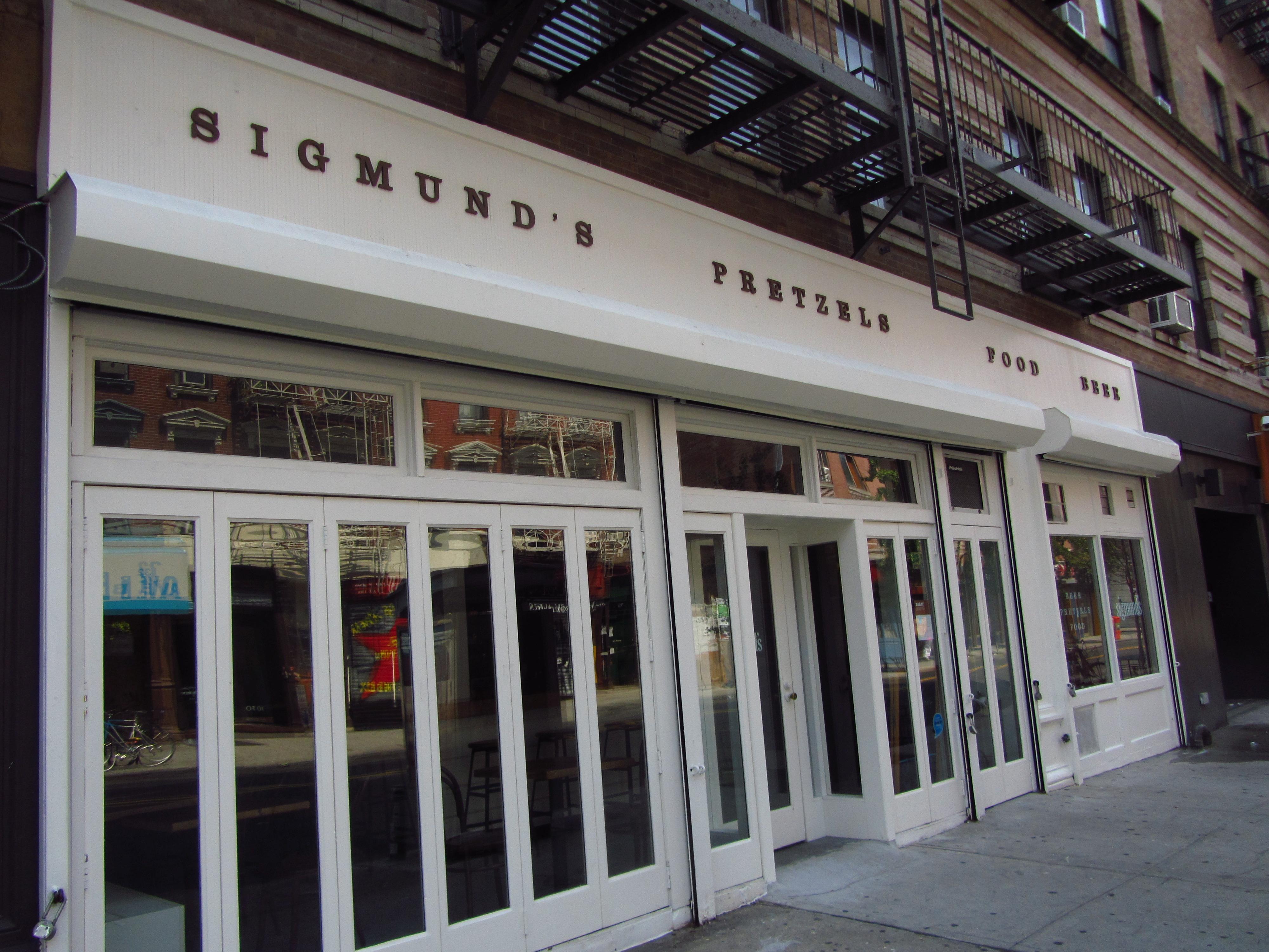 Sigmund's (Photo: Deena Shenker)