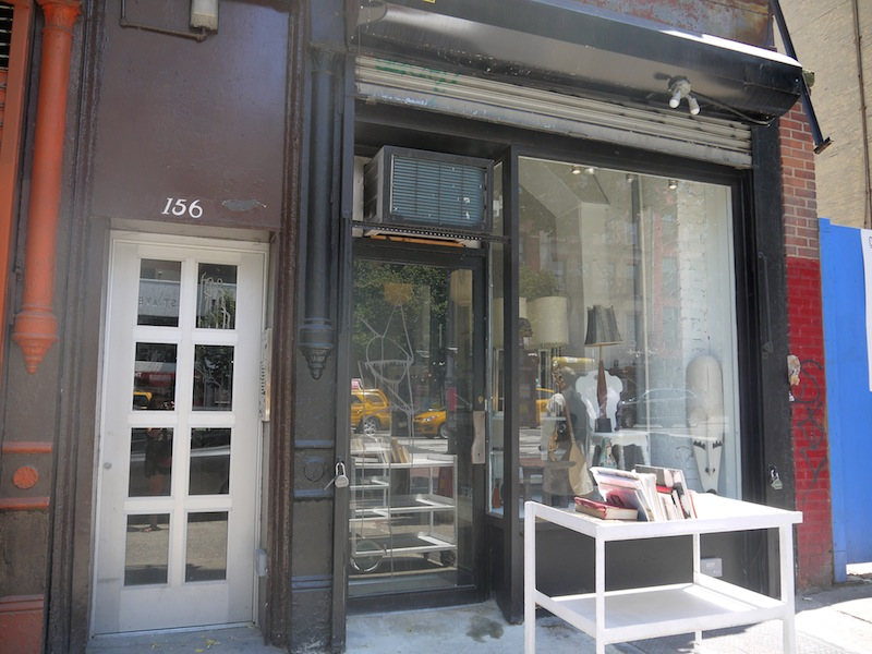 The new storefront (Photo: Anna Silman)