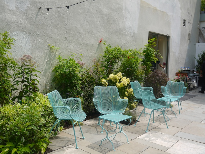 Chairs! (Photo: Anna Silman)