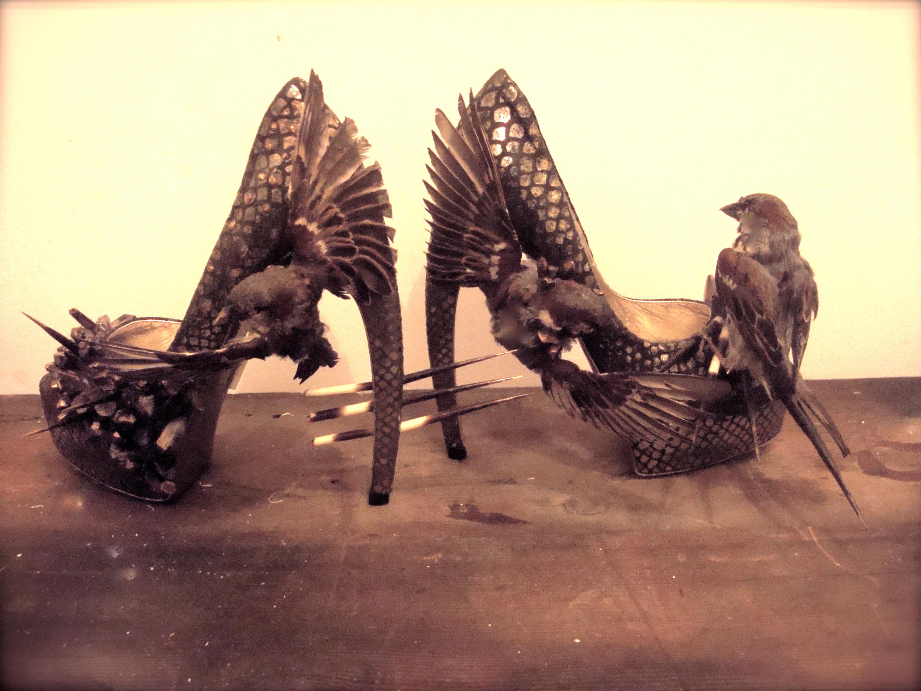 The shoes. (Courtesy of Divya)