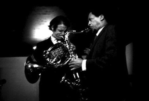 David Amram (l) and George Barrow (Photo: Wesley Waites)