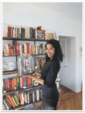 Divya at home. (Photo: Laura Entis)