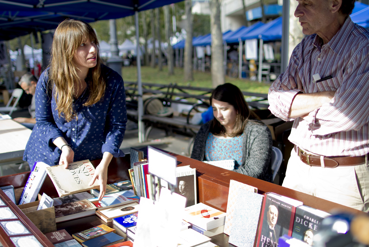 Vendors from Community Bookstore & Terrace Books. (Photo: Meghan White)