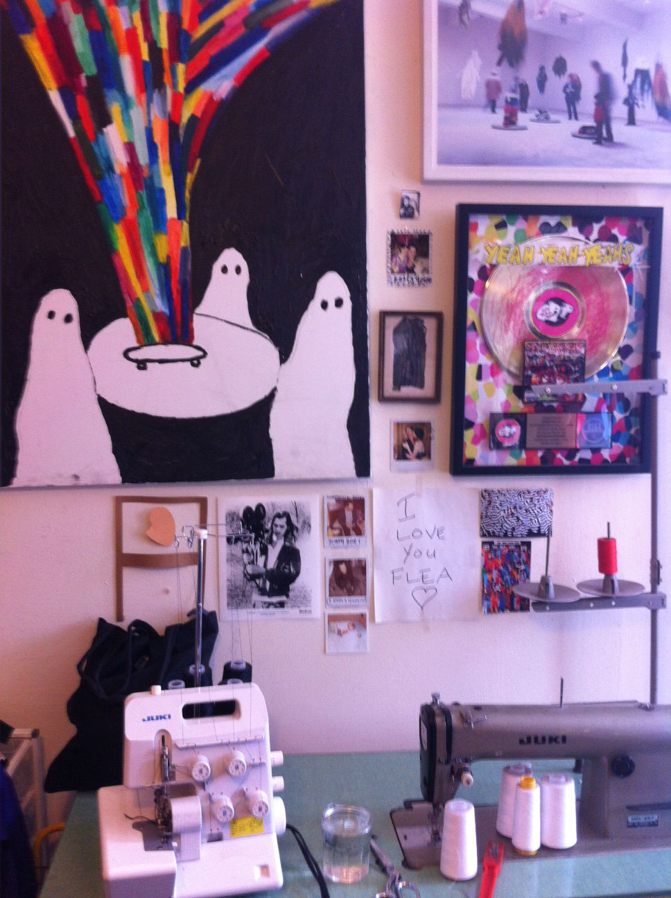Christian Joy's Greenpoint studio (Photo: Araceli Cruz)