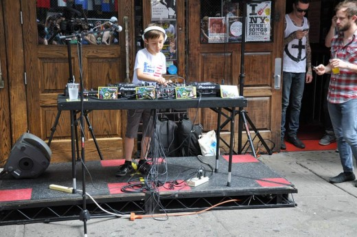 DJ Kai performing at this past June's Daylife. (via LES BID)
