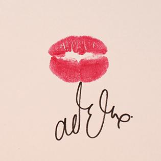 Adele's kiss.