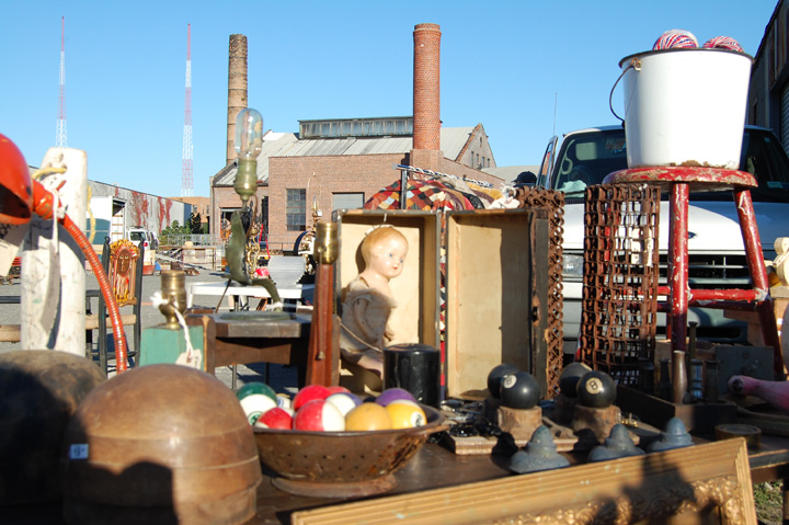Knockdown Center Flea Market