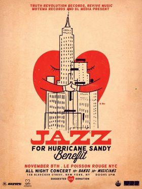 Hurricane Sandy Poster