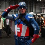 Captain America from the Marvel comic book universe.