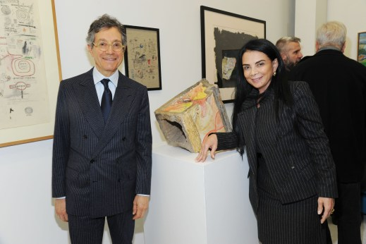Jeffrey Deitch, Mary Boone (Photo: Patrick McMullan)