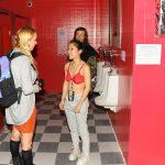 The recreated restrooms (Photo: Paul Bruinooge/PatrickMcMullan.com)