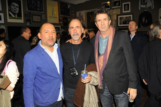 Serge Becker, Darius Azari, Eric Goode (Photo: Patrick McMullan)