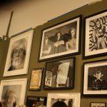 Portraits of Warhol, Haring, etc. (Photo: Daniel Maurer)