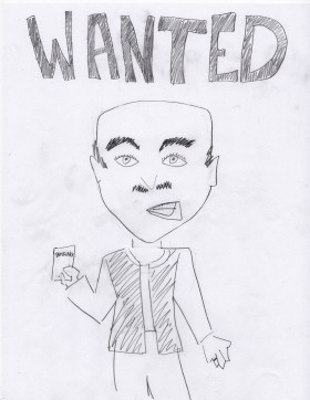 The perp as rendered by his victim.