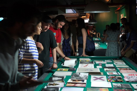 The first zine fair. (Photo courtesy of 8-Ball)