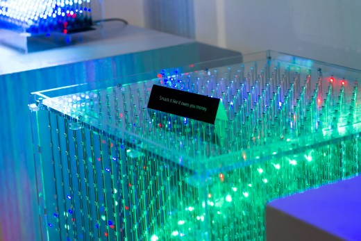 Looking Glass Factory's L3D Cube (photo: Skye Morse-Hodgson)