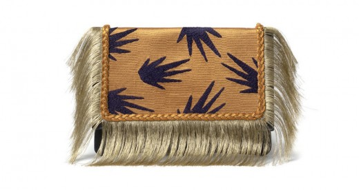 Port Of Call Clutch In Tropic Fringe by Lizzie Fortunato (Credit: Lizzie Fortunato website)
