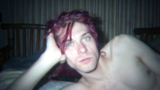 """An unseen image of Kurt Cobain at home featured in the film """"Kurt Cobain: Montage of Heck"""" (© The End of Music, LLC/ Courtesy HBO)"""