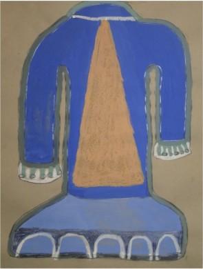 "Caroline Echols, ""Trumpeter"" (image courtesy of IDIO Gallery)"