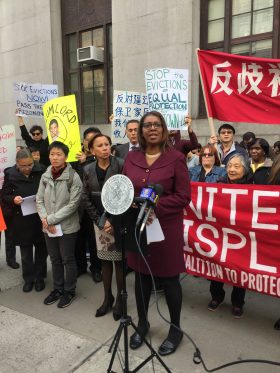 Public Advocate Letitia James (Photo by Kavitha Surana)
