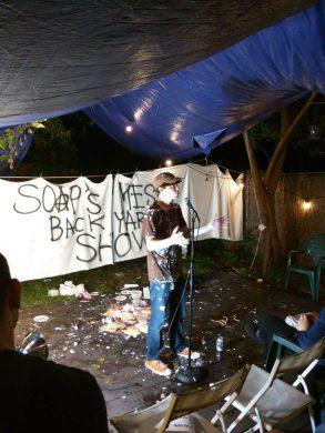 Last year's messy show. (photo via Andrew Benedict)