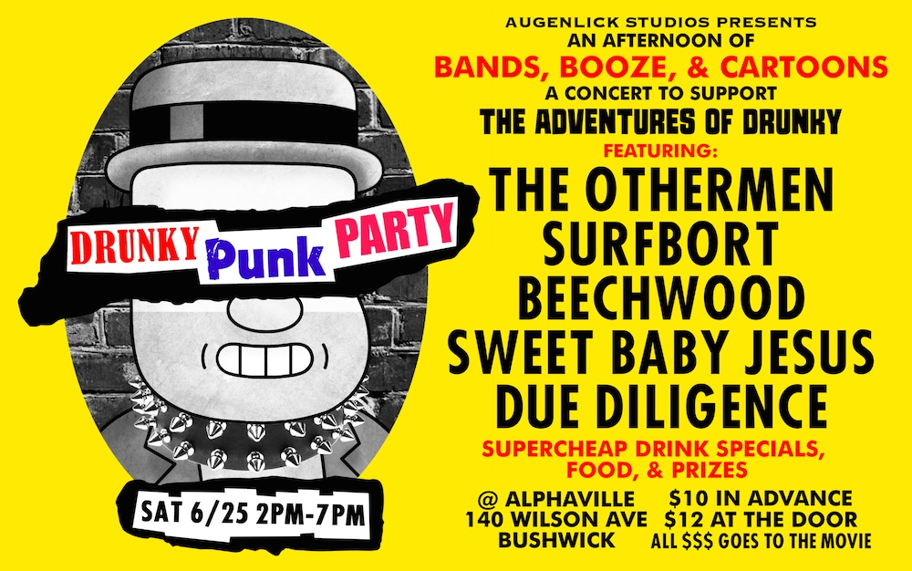 "(Flyer via ""Adventures of Drunky""/ Augenblick Studios)"