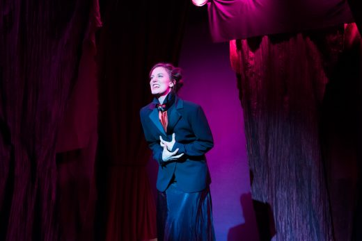 Patricia Sabulis as Jane Toppan (photo: Rebecca Russell)