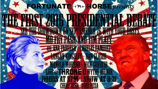 (flyer via Fortunate Horse / Facebook)