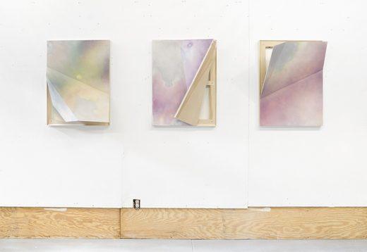 John Dante Bianchi Installation view of John Dante Bianchi's studio, 2016 (image via Denny Gallery)